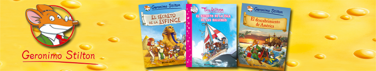 <div>Cómic Geronimo Stilton</div>